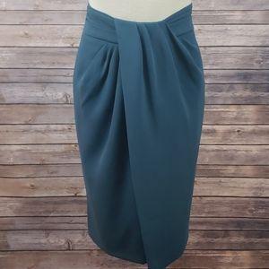 MM LAFLEUR The Lenox Silk Pencil Skirt size 4